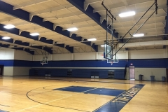 Complete school gym renovation
