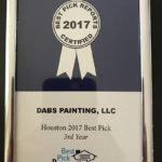 Houston 2017 Best Pick Award